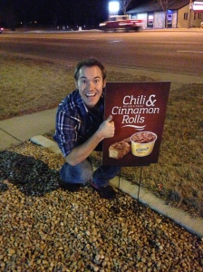 See... I'm not crazy. Chili and Cinamon Rolls is a THING!