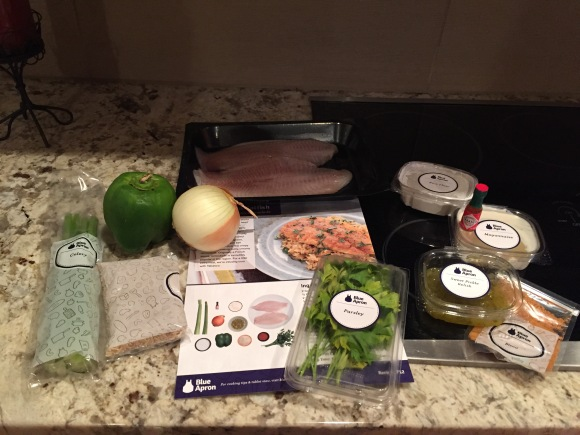 Look! It's everything you need. Seriously everything. And it's so pretty. And pre-portioned. You're just going to have to wash, chop and cook. And you'll look amazing while doing it. I just know it!